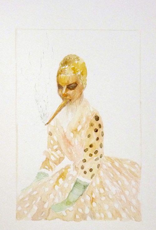 watercolor, Lorene Taurerewa