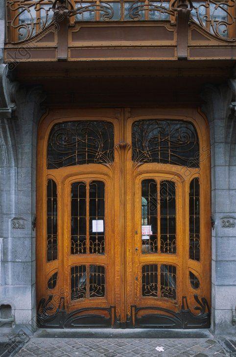 Brüssel – Bruxelles (Belgien), Hôtel Solvay – Haus Solvay, Avenue Louise 224 (erb. für die Gebrüder Solvay 1894–1898; Arch.: Victor Horta).