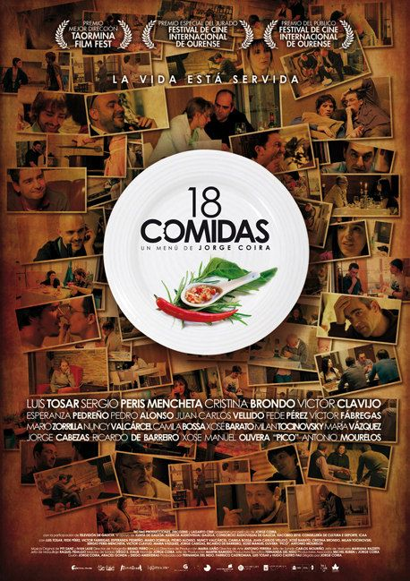 G 8-88/2346 - 18 comidas [Imagen de http://www.labutaca.net/peliculas/18-comidas/#cartel]