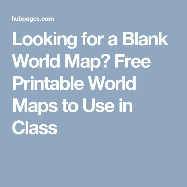 The 25 best Blank world map ideas on Pinterest
