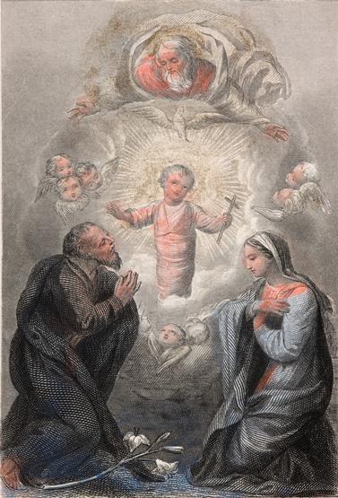 Boże Narodzenie, autor nieznany // Christmas, unknown artist
