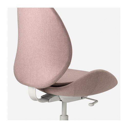 Hattefjall Kontorsstol Gunnared Mellangra Ikea Chaise Bureau Ikea Chaise