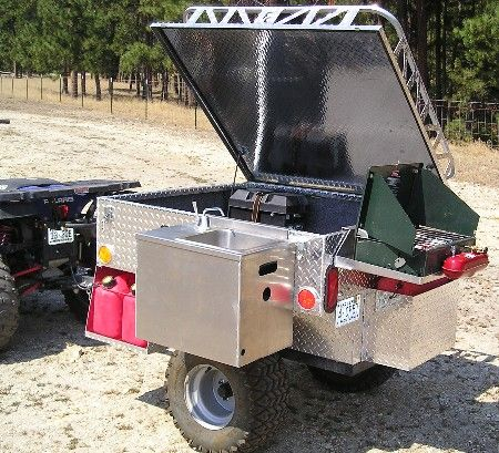 Off-Road Camping Trailers | This is the Camp Trailer with all the accessories added!