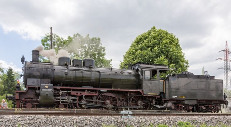 P8 2455 (Posen) der Wutachtalbahn (Sauschwänzlebahn) am 15.06.2014 in Blumberg-Zollhaus vor der Fahrt nach Weizen.
