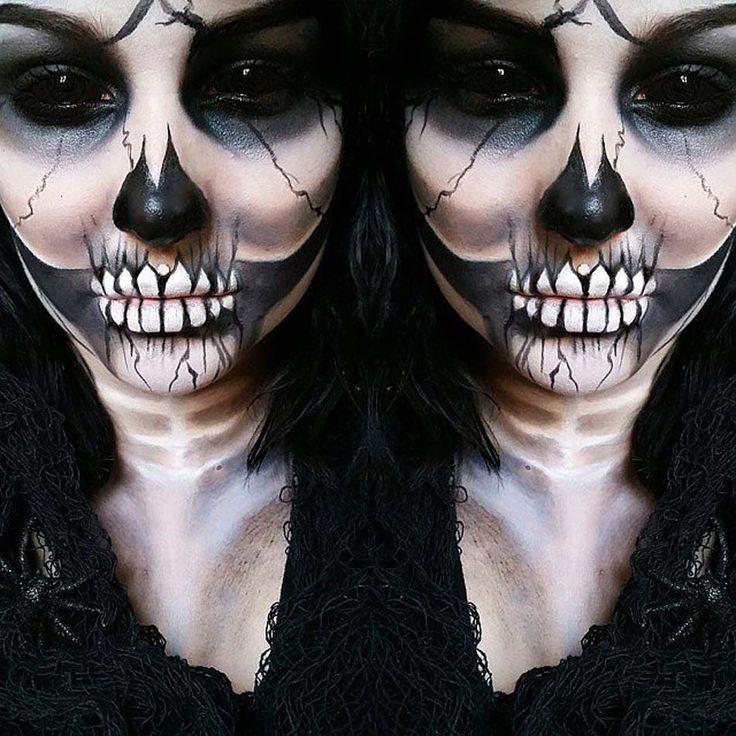 ... idées de maquillage Halloween mystère, horreur ou gore  Halloween