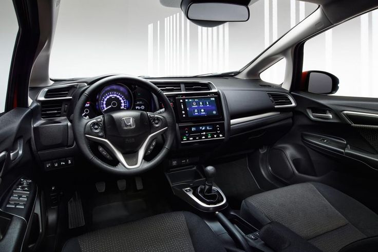 The interior of the new 2015 Honda Jazz!