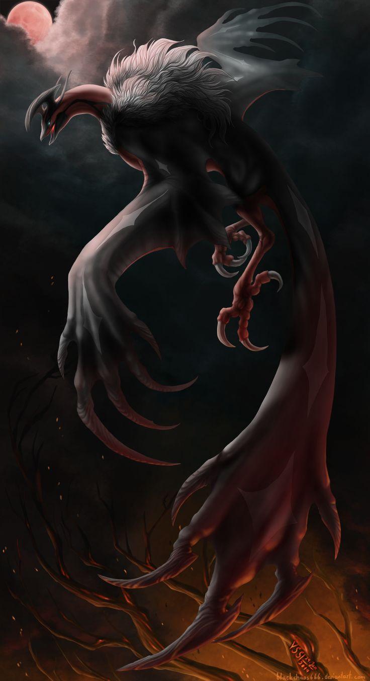 The Fall of Yggdrasil by BlackChaos666 #pokemon #yggdrasil #gamershaunt
