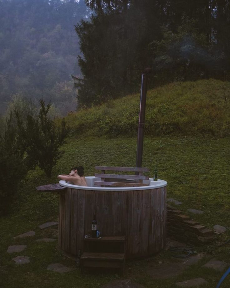 """543 Likes, 12 Comments - Read Something (@roseblacque) on Instagram: """"somewhere in Slovenia in a wood burning hot tub while it rained 💫 link in bio to my 2017 Best Of ✌🏼"""""""