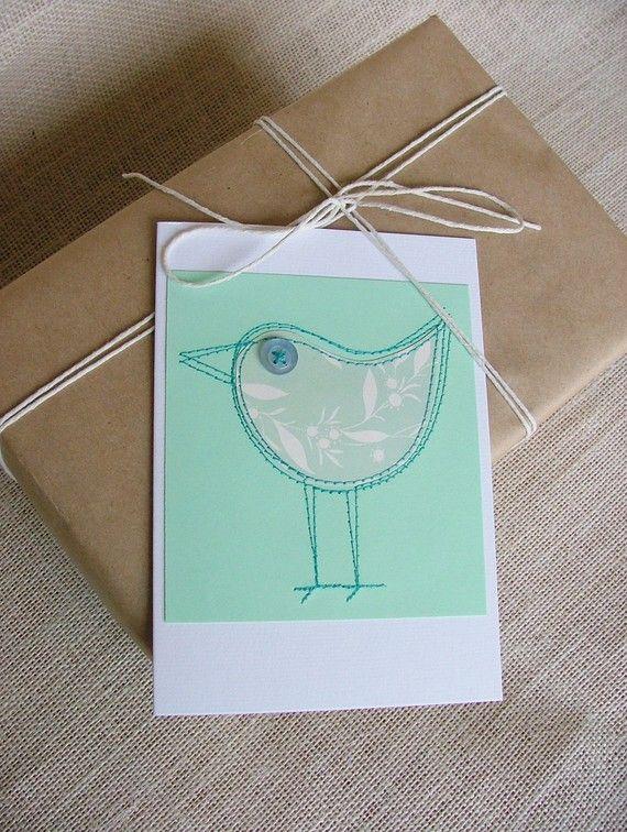 Sewn Card