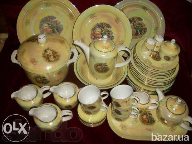 Фарфоровый чайно-столовый сервиз «Мадонна» на 12 персон - Прочие товары для дома Кировоград на Bazar.ua