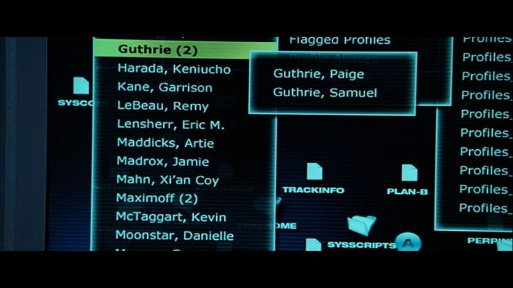 When Mystique hacks into the files of William Stryker, the names of several famous mutants can be seen including Jamie Madrox (Multiple Man), Remy LeBeau (Gambit) and the cloyingly vague Maximoff (2) are referencing the Scarlet Witch and Quicksilver, the legally dubious characters who are claimed by both Marvel Studios and 20th Century Fox.