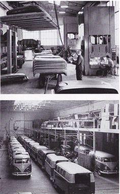 Volkswagen bus factory