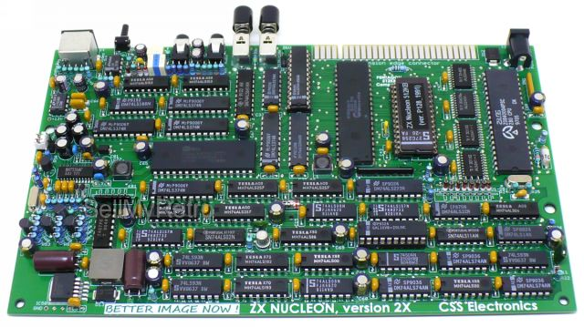 Zx Nucleon 512kb Clone Pentagon 128 512 Zx Spectrum 128kb