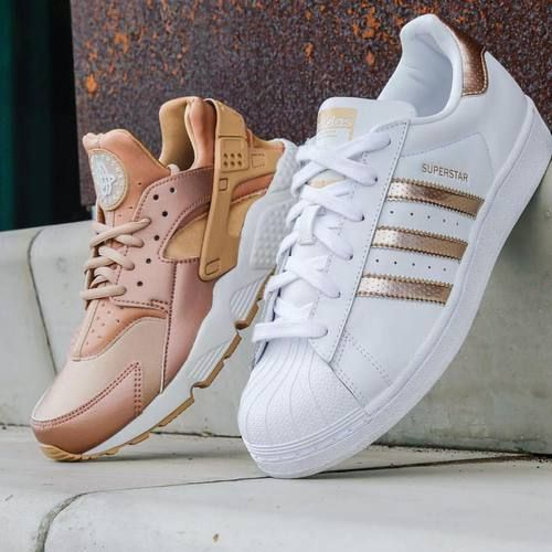 adidas-white-and-peach- Classy and trendy sporty shoes http://www.justtrendygirls.com/classy-and-trendy-sporty-shoes/