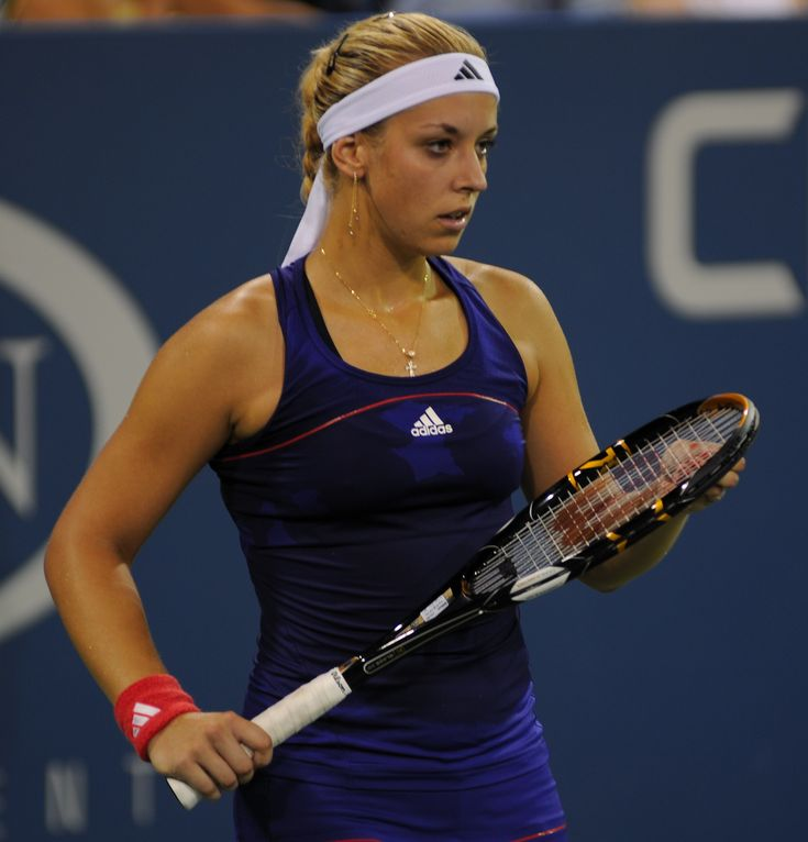 Sabine Lisicki, Germany's former number one tennis player, looks to be heading back to the heights where she belongs. Description from aceofbaseline.wordpress.com. I searched for this on bing.com/images