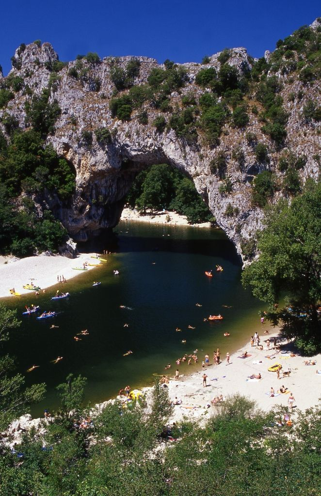 Beautiful Pont d'Arc, France | See More Pictures | #SeeMorePictures