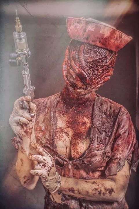 Checkout this fantastic silent hill nurse cosplay | TarskiBlog.com