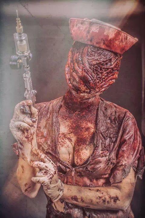 Checkout this fantastic silent hill nurse cosplay | TarskiBlog.com