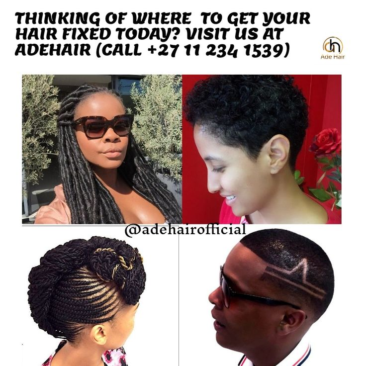 Happy weekend lovely people, at Adehair, we  fix all types  of hairstyles and haircuts , visit  us today, and experience our top notch service. Tell your families and friends about us.   We got you covered....!  #GoodMorning #plaits #extensions #cornrows #creative  #happyclient  #hairgoals  #beauty #motivation  #hairstyles #haircolor #photography #hairdresser #barberlife #barbershop #ladies #men #barbershopconnect #salon #color #haircut #hair #hairdressing  #training #sunninghill…