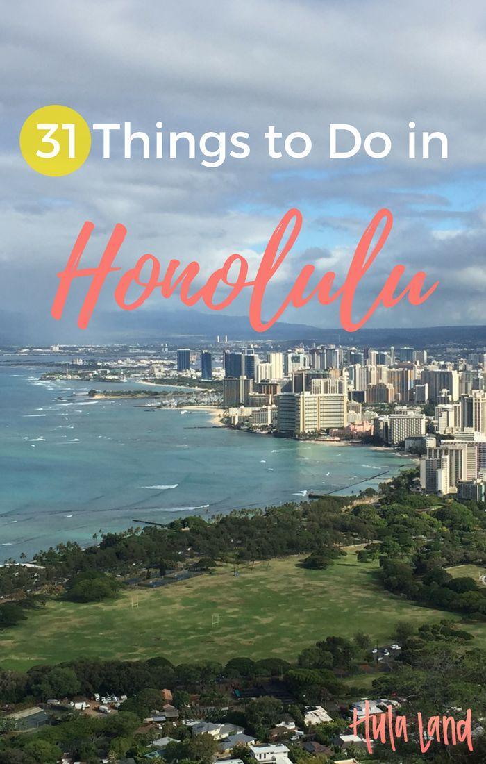 31 Things to do in Honolulu & Waikiki including Diamond Head, Pearl Harbor, the Aloha Swap Meet, and more!