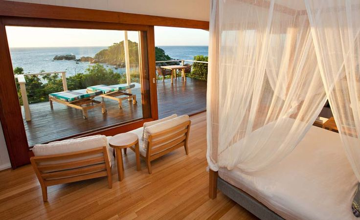 Who wouldn't want to wake up to this?  Lizard Island on the Great Barrier Reef in Queensland, Australia