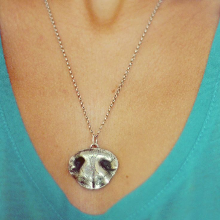www.tartoo.org dog nose silver pendent