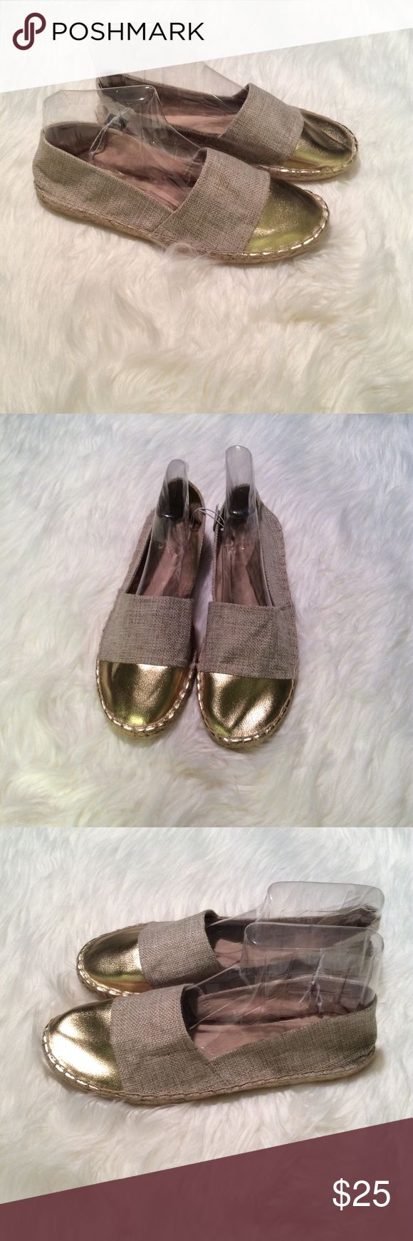 Gap Gold Tip Espadrilles New with tags! GAP Shoes Espadrilles