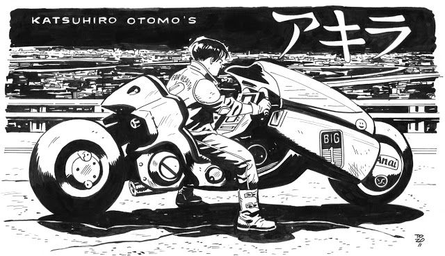 Mercenary Garage: Kaneda Bike