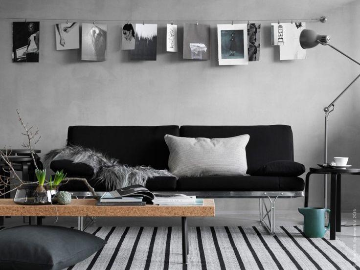 Får vi presentera en nygammal bekant, MOMENT formgiven 1985 av Niels Gammelgaard. MOMENT soffan med sin karaktäristiska stålkonstruktion prydde IKEA katalogens omslag samma år och beskrevs då som årets läckraste nyhet!