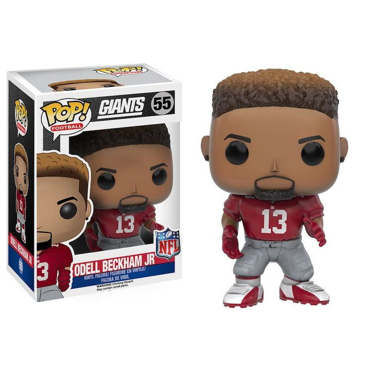 New York Giants Odell Beckham Jr Funko POP Figurine
