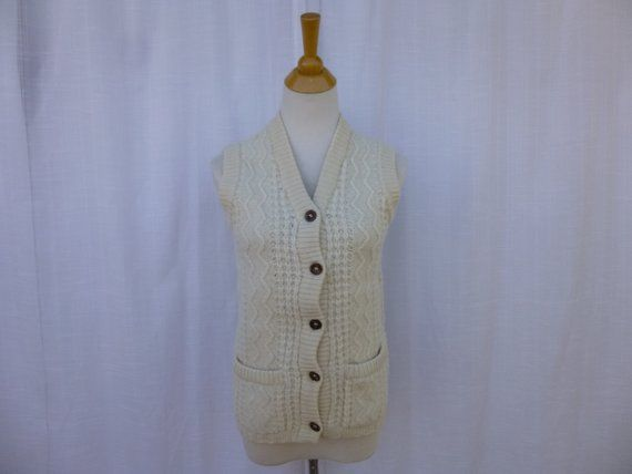Vintage 60s Marshall Field Cable Knitted 100 Pure Wool Etsy Vintage Sweaters Cable Knit Knitted