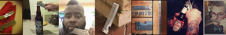 Stainless Steel Metal Comb Bottle Opener | Old Familiar Comb Company