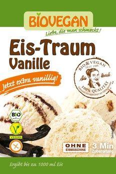Biovegan Eis-Traum Vanille, Eispulver 77g - Desserts