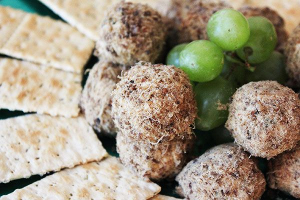Cream cheese and biltong truffles are perfect for a light summer snack
