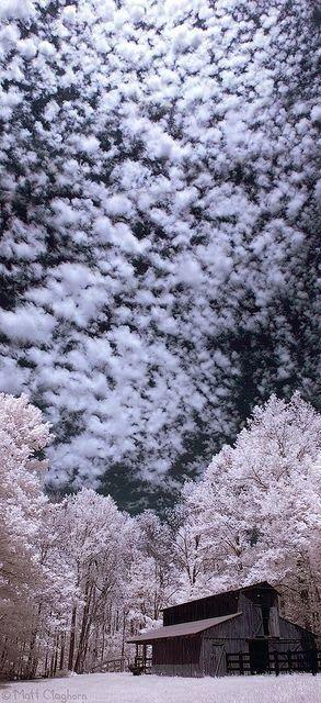 What a marvellous winter sky! #PANDORAloves