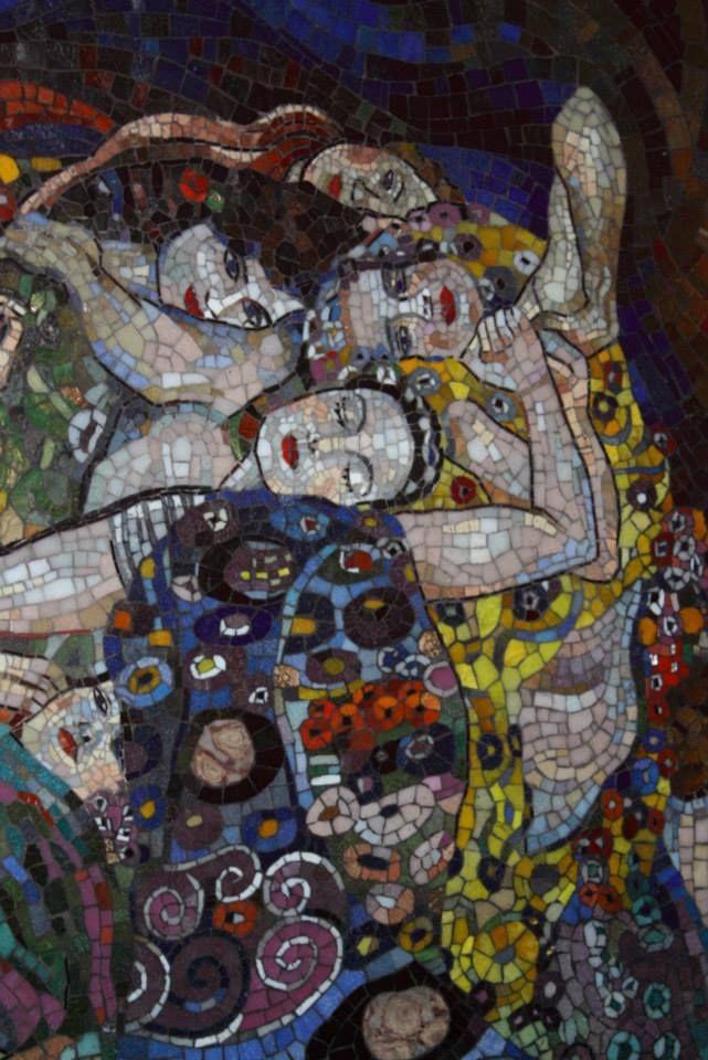klimt mosaic