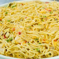 Chicken Spaghetti - Pioneer Woman Recipe   Key Ingredient
