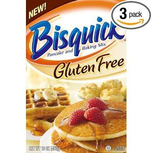 Bisquick  ITS A NOT>> Make your own recipe  Just like Bisquick Gluten Free