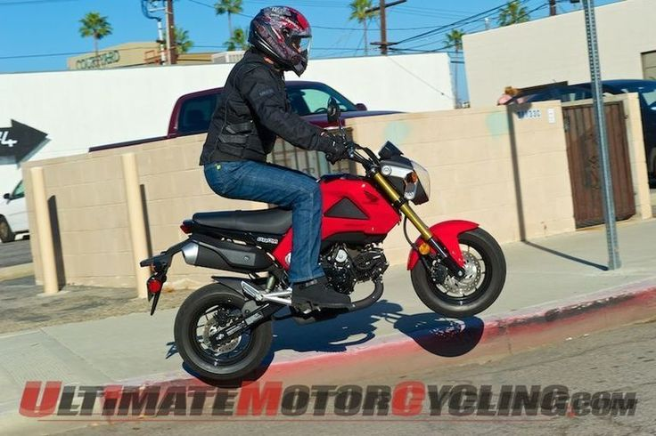 Honda Recalls 10,000 Grom 125s and Forza Power Scooters