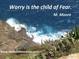 Mike Moore's Laughter Lounge : Photo Meditation: Worry is...