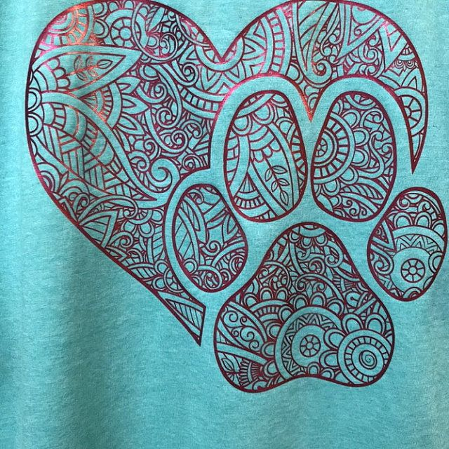 Download Heart Paw Print Svg Love Dog Svg Love Dog Paw Heart Paw ...