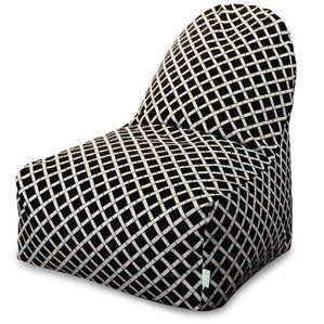 Cheap boutique Ayer Geometric Pattern Bean Bag Lounger