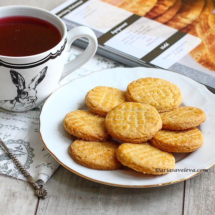 Daria Saveleva | Классические французское печенье Palets Breton