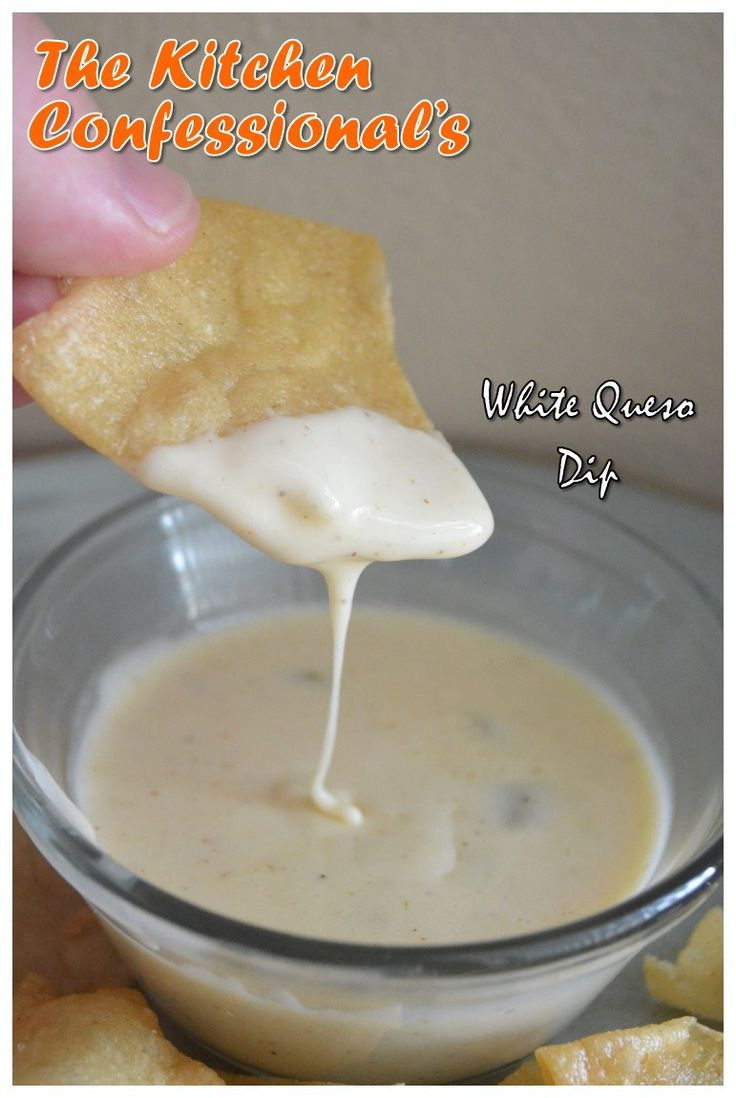 White Queso Dip {easy and delicious}
