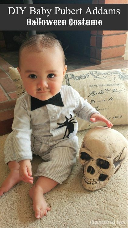 186 best costumes images on pinterest costume ideas carnivals baby pubert addams diy halloween costume diy inspired solutioingenieria Image collections
