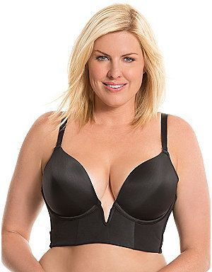 c56f59a5a98ce Plus Size Strapless Long Line Bra by Cacique