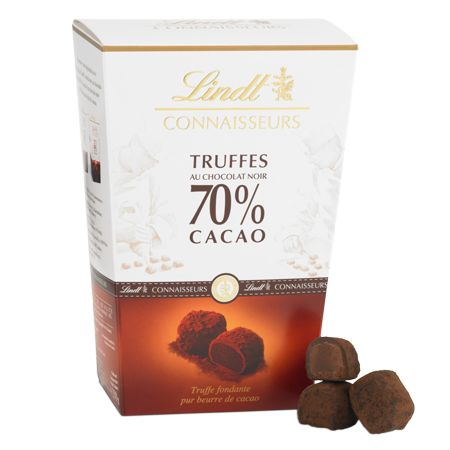 CONNAISSEURS Truffles 70% Cocoa   Lindt Boxed Chocolate