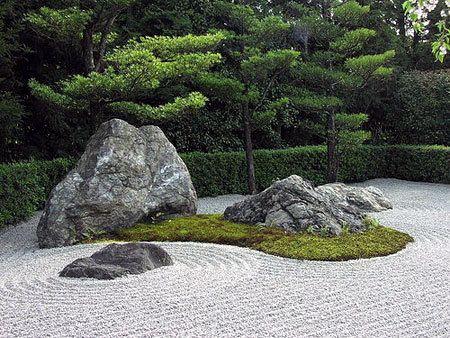 Idéias Para Jardins   Jardim Zen. Japanese Rock GardenJapanese ...