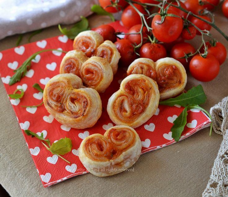 Ventaglietti salati alla pizzaiola