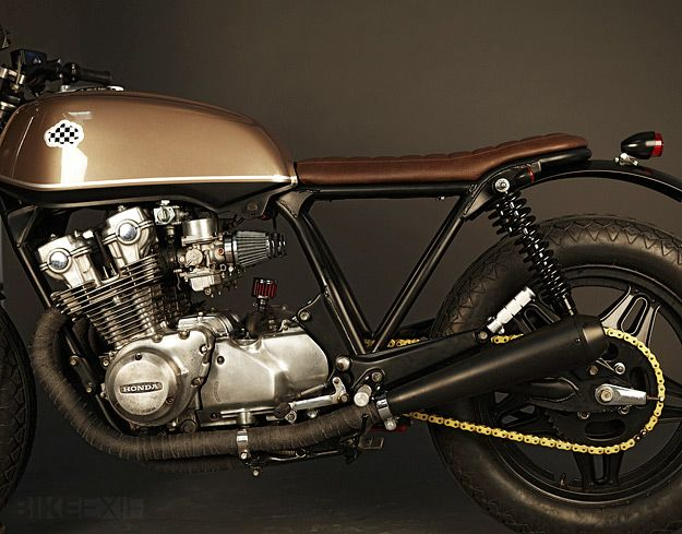 "Honda CB750 ""Cíclope"", from Spain's Café Racer Dream"